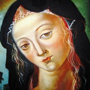 Mary - oil
