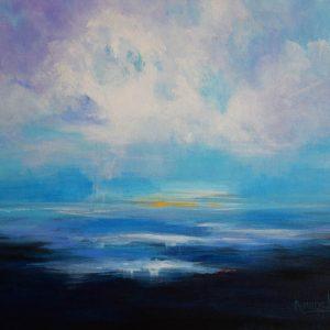 Melt into a peaceful inviting seascape.